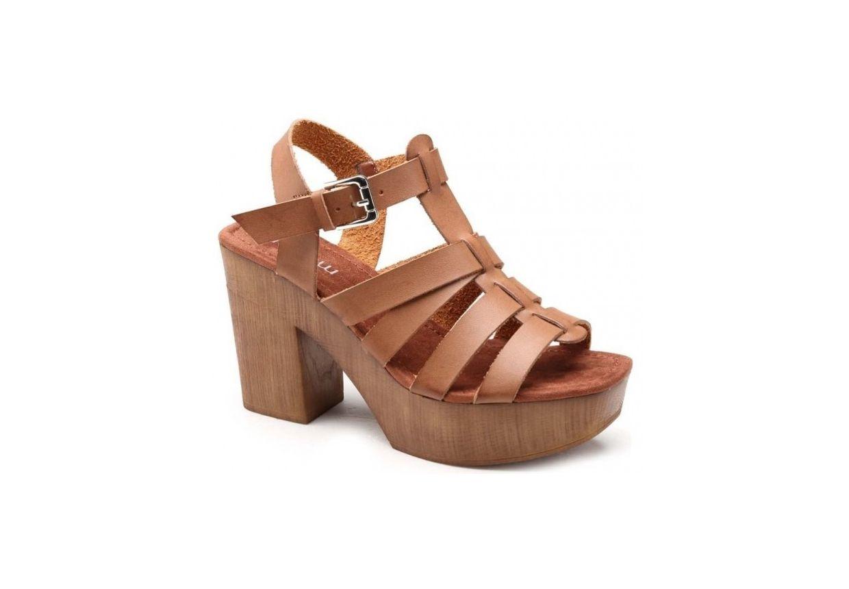 Sandales-bois-style-spartiate-marron-Moow